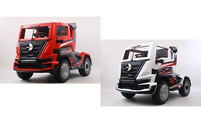 12v Transporter Kids Electric Ride On Lorry Truck & Parental Remote Control • 289.99£