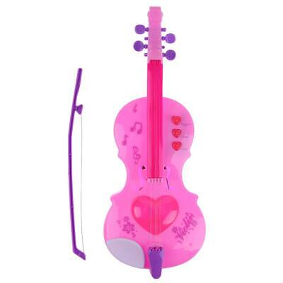 4 Strings Music Electric Violin Kids Musical Instruments Educational Toys • 6.96£