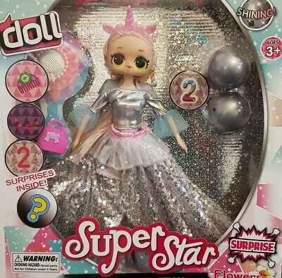 Girls Kids Unicorn Pop Doll Outrageous Lol Dolls Toy Gift - Height 12.5 Inches • 15.99£