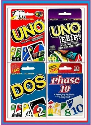 UNO Card Game 112 CARDS Great Family FUN Travel Party Game UK Seller FAST POST • 3.79£