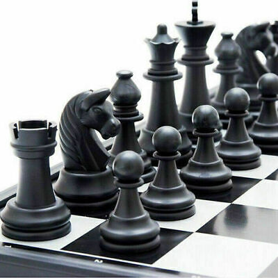 High Quality Large Magnetic Folding Chess Board Game Set/ Foldable Chess 25 X 25 • 10.99£