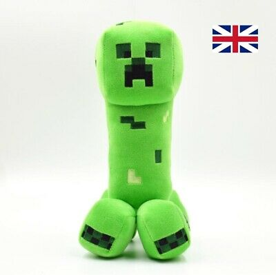 New MINECRAFT Creeper Plush Teddy Toys Gift Plush Toys My World 25cm OversizedUK • 7.89£