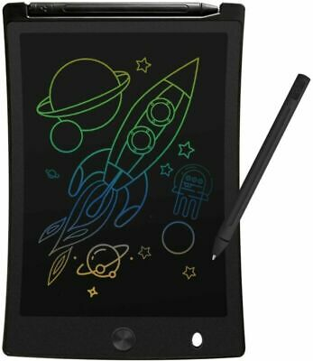 TEKFUN Colourful LCD Writing Tablet, 8.5 Inch Digital Ewriter Black • 14.85£