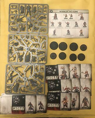 Warhammer Age Of Sigmar Warcry Catacombs Scions Of The Flame - New On Sprue • 33.95£