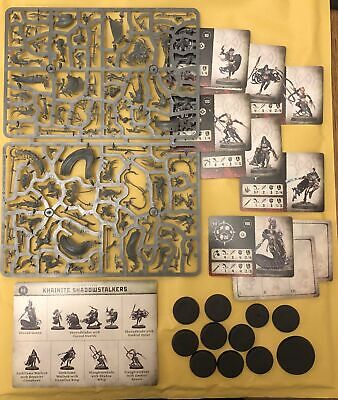 Warhammer Age Of Sigmar Warcry Catacombs Khainite Shadowstalkers - New On Sprue • 41.95£
