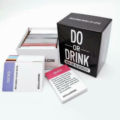 Do Or Drink - Drinking Card Game - Adult Party Game - Dare Or Shots New • 14.99£