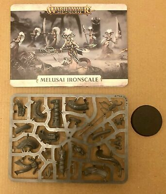 Age Of Sigmar - Shadow And Pain - Melusai Ironscale - New On Sprue • 22.45£