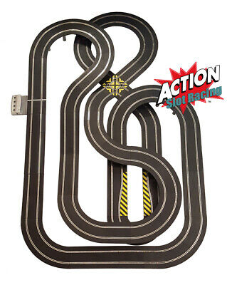 Scalextric Sport 1:32 Track Set - Huge Layout DIGITAL AS5 #NBA • 154.99£
