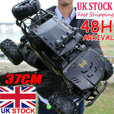 4WD RC Monster Truck Off-Road Vehicle 2.4G Remote Control Crawler Electric Cars • 59.97£