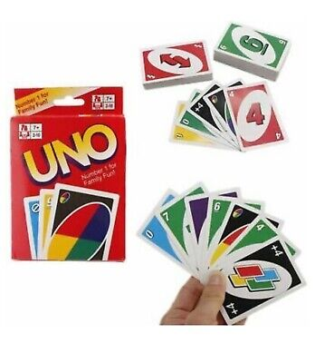 UNO Card Play Game For Children And Family Original • 2.49£