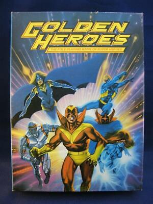 Golden Heroes The Role Playing Game Of Super Heroes - Games Workshop - 1984 • 35£