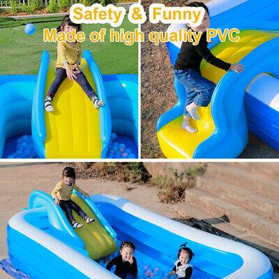 Inflatable Water Slides For Kids Backyard Summer Water Party Water Slides Gift • 45.89£