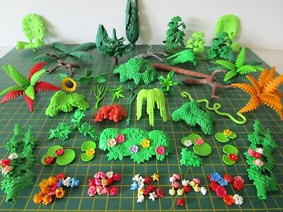 Playmobil FLOWERS LEAVES BUSHES TREES Multi Listing [Spare Part Replacements]  • 2.49£