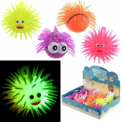 Squidgy Light Up Puff Pet Puffer Fish, Xmas Gift/Present/Stocking Filler • 1.99£