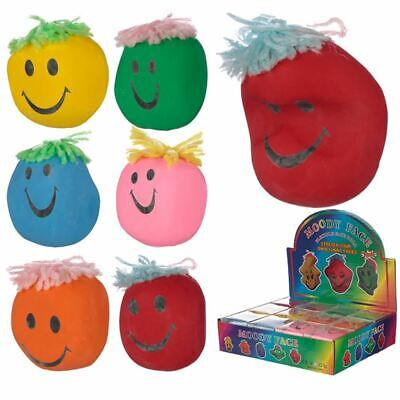 Colourful Squeezy Mood Head, Christmas/Birthday Gift/Present/Stocking Filler • 1.99£