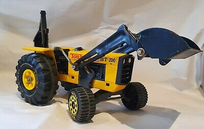 Tonka T700 Metal Digger Tractor Excatvator Loader, Rare, Vintage, Collectable  • 35£