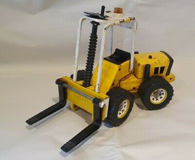 Rare Vintage Collectable Tonka Metal Forklift Truck • 30£