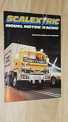Scalextric Catalogue 1983 24th Edition • 5£
