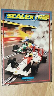 Scalextric Catalogue 1990 31st Edition • 5£