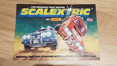 Scalextric Catalogue 1983 25th Edition • 5£