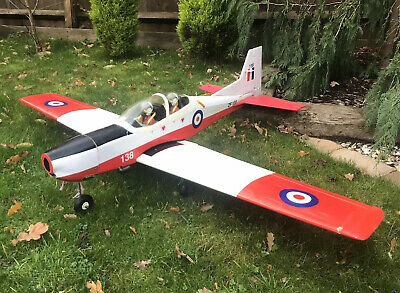 RC Plane TUCANO / T-6a TEXAN With Servos - No Engine • 69.99£