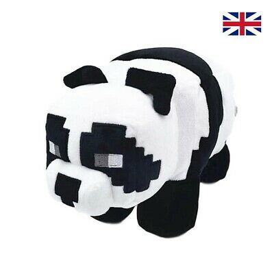 MINECRAFT Panda Plush Teddy Toys Gift Plush Toys My World 28cm Oversized New UK • 8.99£