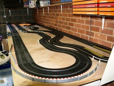 Massive Scalextric Sport Track ,cars And Accessories (collection From Coventry O • 49.99£