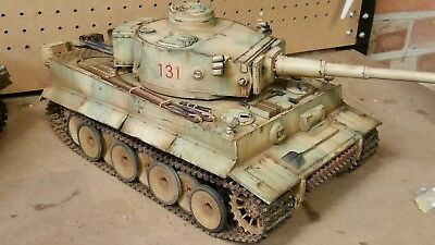Tiger 1 Tank Custom Airbrush Camouflage Only For Liam  • 80£