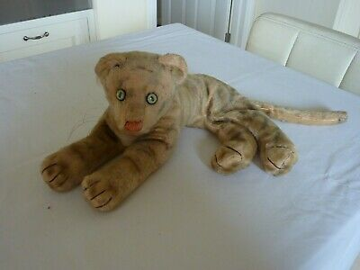 Soft Toy Tiger/Cat Vintage • 9.99£