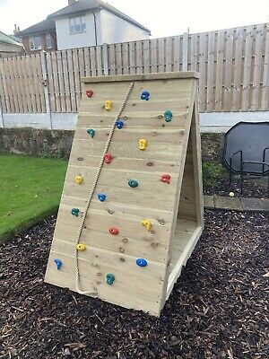 Kids Large Outdoor Climbing Wall • 395£