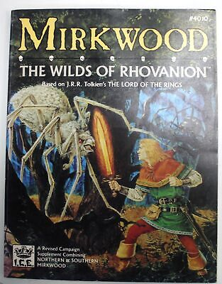 MIRKWOOD The Wilds Of Rhovanion LORD OF THE RINGS MERP Revised Campaign - W13 • 4.99£