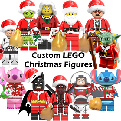 Custom LEGO Christmas Mini Figures - Marvel DC Star Wars Santa Disney Toy Story • 3.99£