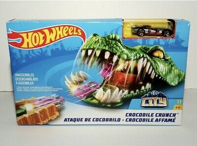 Hot Wheels City Creature Track Crocodile Crunch • 18.99£
