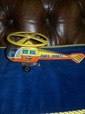 Vintage Tinplate Helicopter Friction Power  • 9.99£
