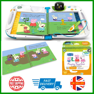 LeapFrog Leapstart Nursery Peppa Pig Story Book 3D Enhanced And Activity Toy New • 13.98£
