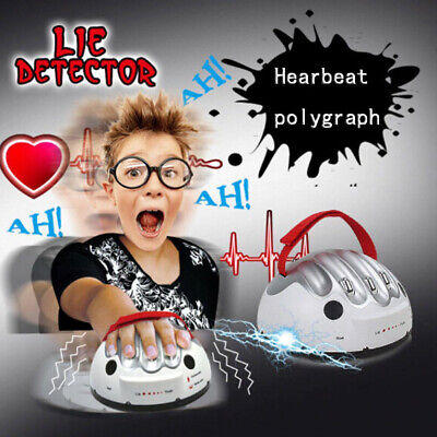 Lie Detector Test Truth Micro Polygraph Party Game Bar Electric Shock Consoles. • 13.97£