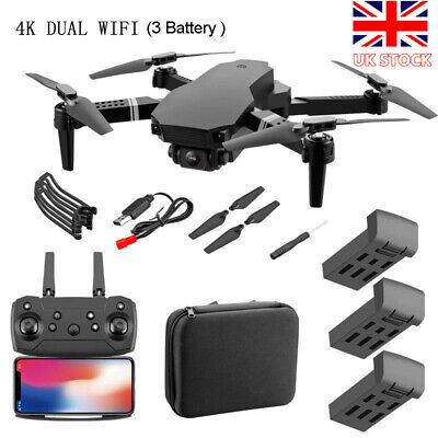 S70 RC Drone 4K HD Dual Camera Wi-Fi FPV 2.4G Selfie Drone Foldable Quadcopter❀ • 29.14£