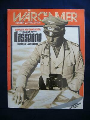 The Wargamer Magazine #23 - Decision At Kasserine - Punched - Game Version • 22.95£
