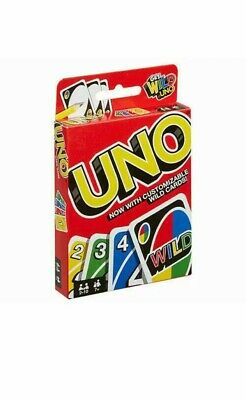 Uno Wild Card Game Is Playing Cards  For Indoor Family/friends  • 2.49£