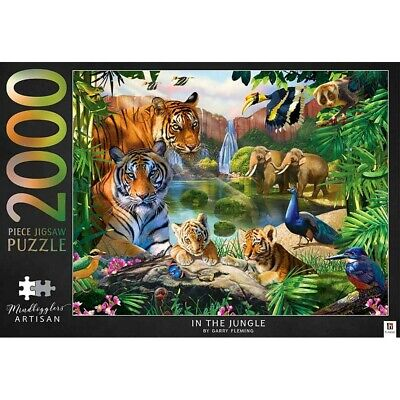 Mindbogglers Artisan In The Jungle 2000 Piece Jigsaw Puzzle, Toys & Games, New • 12£