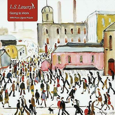 Adult Jigsaw Puzzle L.S. Lowry: Going To Work,  ,  Hardback • 11.35£
