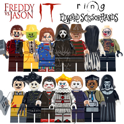 Lego Horror Mini Figures - Lego Compatible Billy Chucky Scream The Ring The Mask • 2.99£