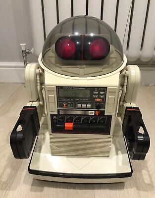 Tomy Omnibot Vintage Robot Working Condition With Box Battery And Remote • 799£