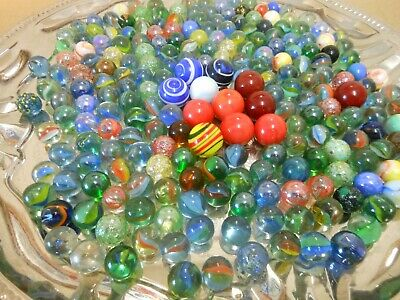 Lots Of Old Glass Marbles,,,,,,,96 • 14£