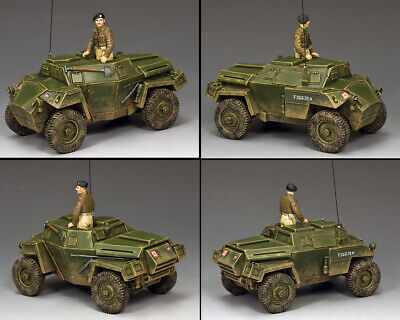 KING AND COUNTRY British Humber Mk.1 Scout Car WW2 MG83 MG083 • 163.95£