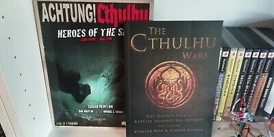 Achtung Cthulhu Heroes Of The Sea And Comic Book The Cthulhu Wars From Ken Hite. • 25£