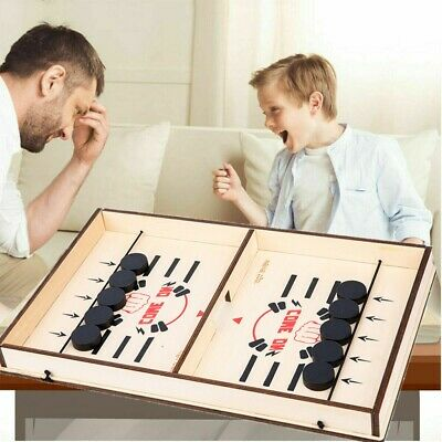 UK Fast Sling Puck Game Paced SlingPuck Winner Board Family Game Child Toy Gifts • 9.98£