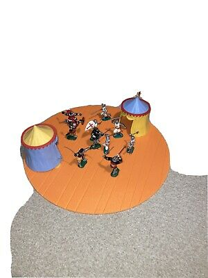 Timpo Knight Crusaders And Tents • 34.99£