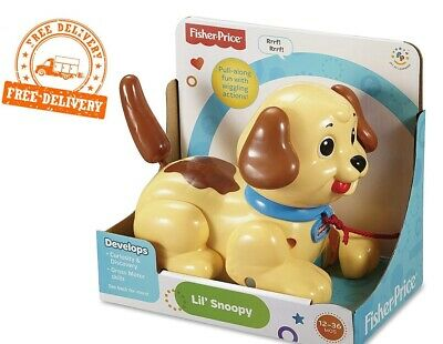 Fisher-Price Lil' Snoopy Pull Along Dog • 10.74£