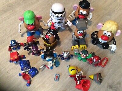 Large Collection Of Mr Potato Head • 24.99£